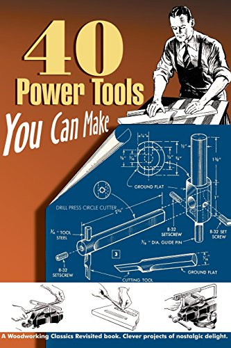 40 Power Tools You Can Make (Woodworking Classics): Wood, Elman; Messinger, P A; Lammey, W C; ...