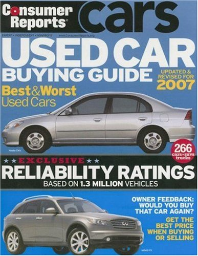 9781933524061: Consumer Reports Used Car Buying Guide