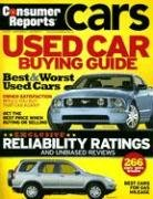 9781933524160: Consumer Reports: Used Car Buying Guide Best & Worst Used Cars