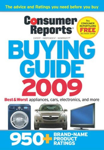 9781933524214: Consumer Reports Buying Guide