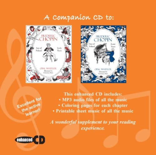 9781933573106: A Companion CD to Frederic Chopin: Early & Later Years (Great Musicians)