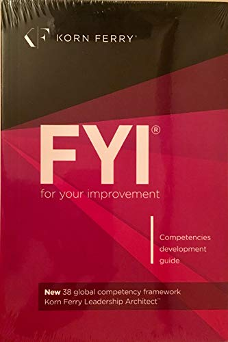 9781933578903: FYI: For Your Improvement - Competencies Development Guide, 6th Edition
