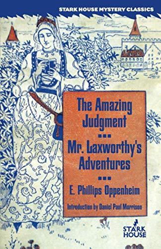 9781933586274: The Amazing Judgment / Mr. Laxworthy's Adventures