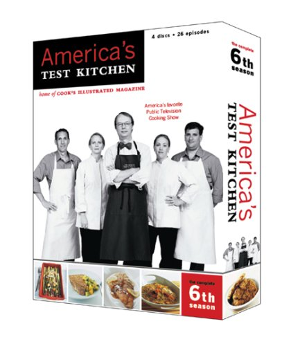 9781933615080: America's Test Kitchen Season 6
