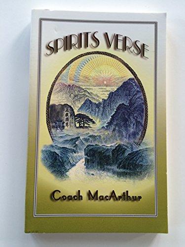 9781933626130: Spirits Verse
