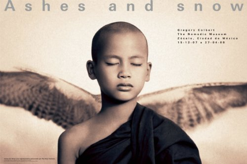 9781933632698: Ashes and Snow Mexico Monk With Wings (Ashes and Snow Posters)