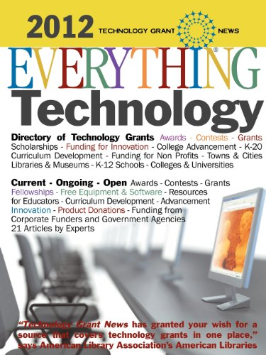 9781933639451: Technology Grant News: Everything Technology - Awards, Contests, Grants, Scholarships
