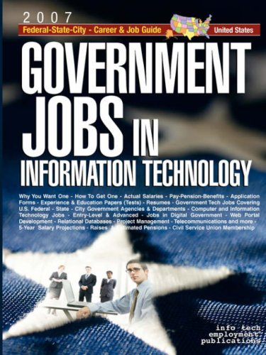 9781933639482: Government Jobs in Information Technology: U.S. Federal-State-City Career & Job Guide