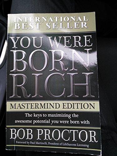 9781933647272: You Were Born Rich Mastermind Edition