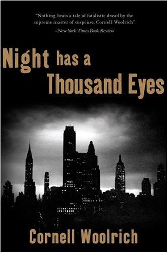9781933648279: Night Has a Thousand Eyes: a novel of suspense
