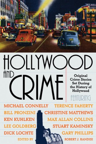 HOLLYWOOD AND CRIME (SIGNED): Randisi, Robert J. (Editor)