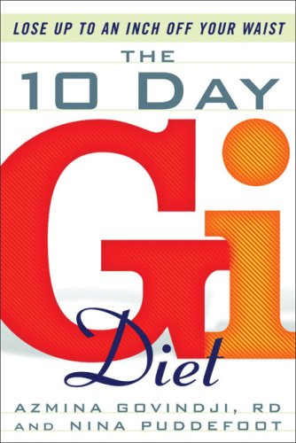 9781933648453: The 10-Day GI Diet: Lose Up to an Inch Off Your Waist
