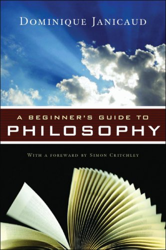 9781933648682: A Beginner's Guide to Philosophy