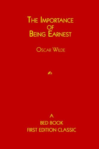 9781933652184: The Importance of Being Earnest