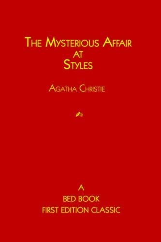 The Mysterious Affair at Styles Hercule Poirot Mysteries: Agatha Christie