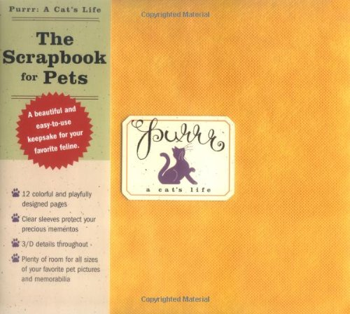 9781933662237: Purrr: A Cat's Life: The Scrapbook for Pets