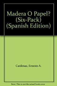 9781933668864: Madera O Papel? (Six-Pack) (Spanish Edition)