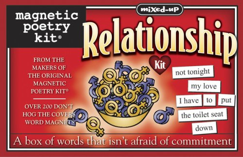 9781933682778: Mixed Up Relationship-Magnetic Poetry