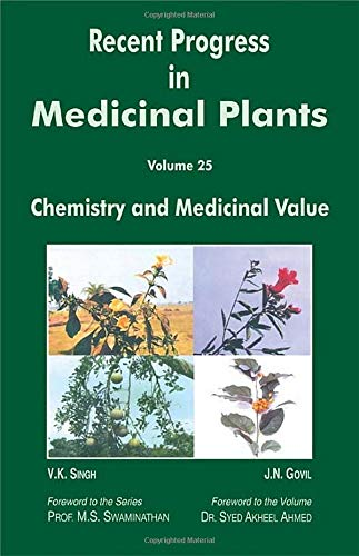 9781933699158: Recent Progress In Medicinal Plants, Vol. 25