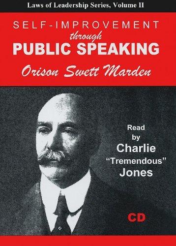 9781933715421: Self-Improvement Through Public Speaking (Laws of Leadership)