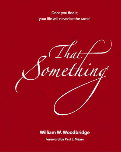 9781933715698: That Something