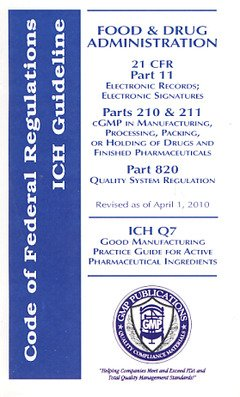 9781933734545: Cfr Pocket Guide: Pharmaceutical Industry Gmp's