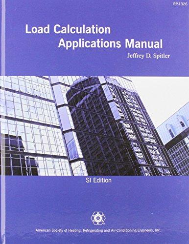 9781933742724: Load Calculation Applications Manual SI Version