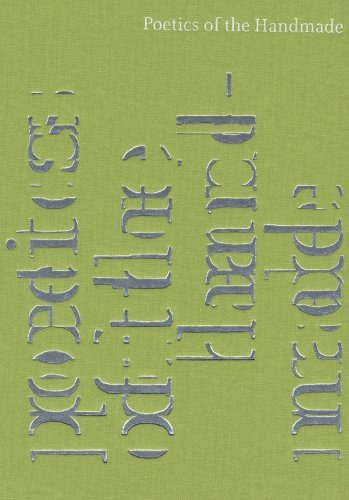 9781933751009: Poetics of the Handmade