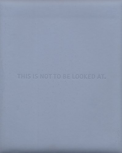 This Is Not to Be Looked at: Ann Goldstein, Rebecca