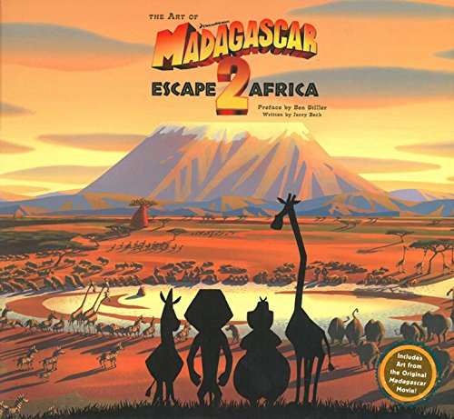 The Art of Madagascar: Escape 2 Africa: Beck, Jerry