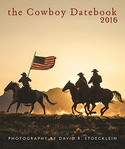 9781933790350: 2016 Cowboy Desk Datebook