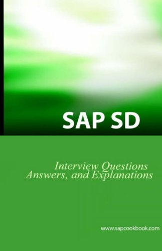 9781933804040: SAP SD Interview Questions, Answers, and Explanations