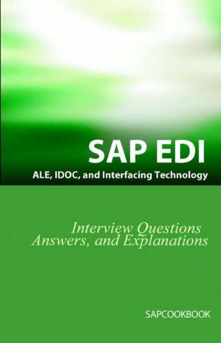 Sap Ale, Idoc, Edi, and Interfacing Tech: Jim Stewart