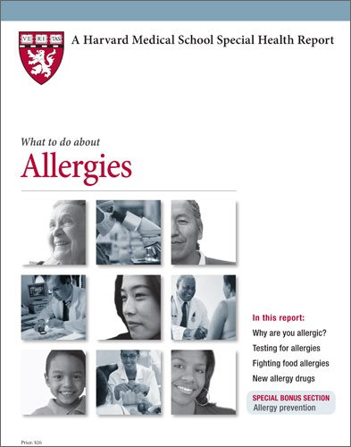 9781933812731: Harvard Medical School What to do about Allergies