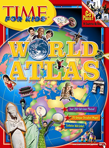9781933821948: Time for Kids World Atlas (Time for Kids)