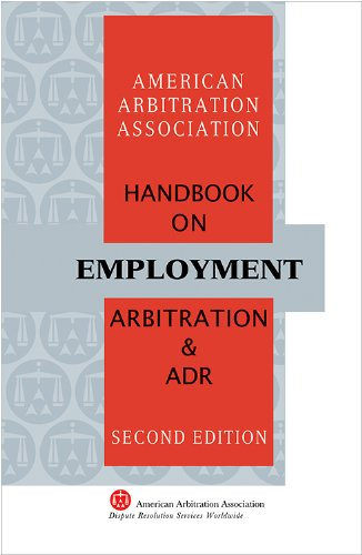 9781933833545: Handbook on Employment Arbitration and ADR
