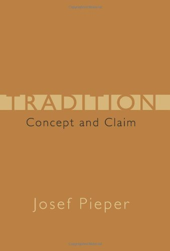 9781933859545: Tradition: Concept and Claim (Crosscurrents (ISI Books))