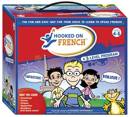 9781933863870: Hooked on French: A 3 Level program (English and French Edition)
