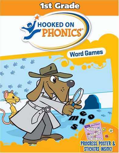 9781933863931: Hooked on Phonics Word Games: 1st Grade