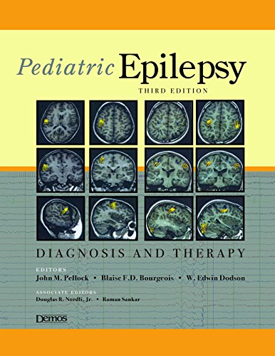 9781933864167: Pediatric Epilepsy: Diagnosis and Therapy :Third Edition