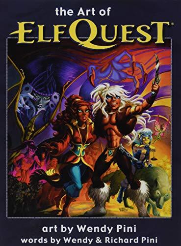 The Art of Elfquest (Hardcover): Richard Pini