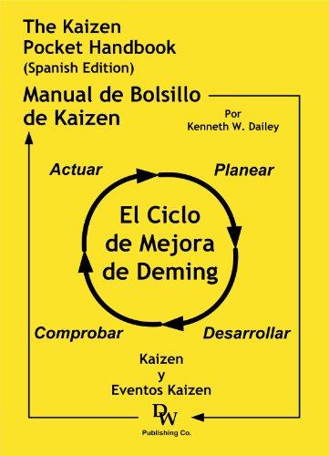 9781933878171: The Kaizen Pocket Handbook (Spanish Edition) - El Manual del Bolsillo de Kaizen