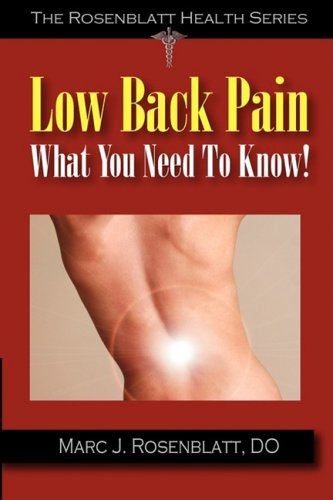 9781933889030: Low Back Pain: What You Need to Know
