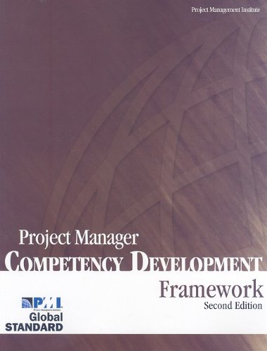 9781933890340: Project Manager Competency Development Framework