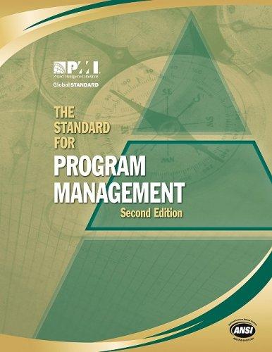 9781933890524: The Standard for Program Management