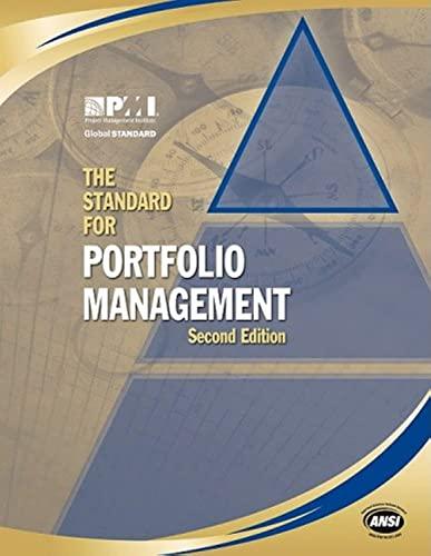 The Standard For Portfolio Management 2nd Edition Pdf