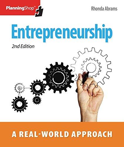 9781933895512: Entrepreneurship: A Real-World Approach