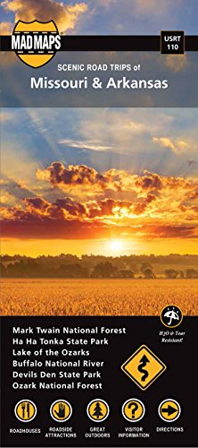 Missouri and Arkansas, Regional Scenic Tours: Mad Maps (Firm)