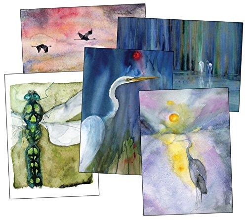 9781933937458: Classic Notecards (Heron Dance Watercolor Notecards)
