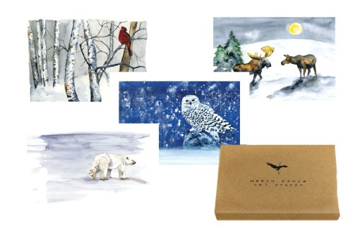 9781933937687: Heron Dance Holiday Notecard Assortment